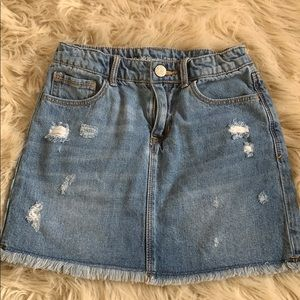 Gap kids denim skirt size 8R